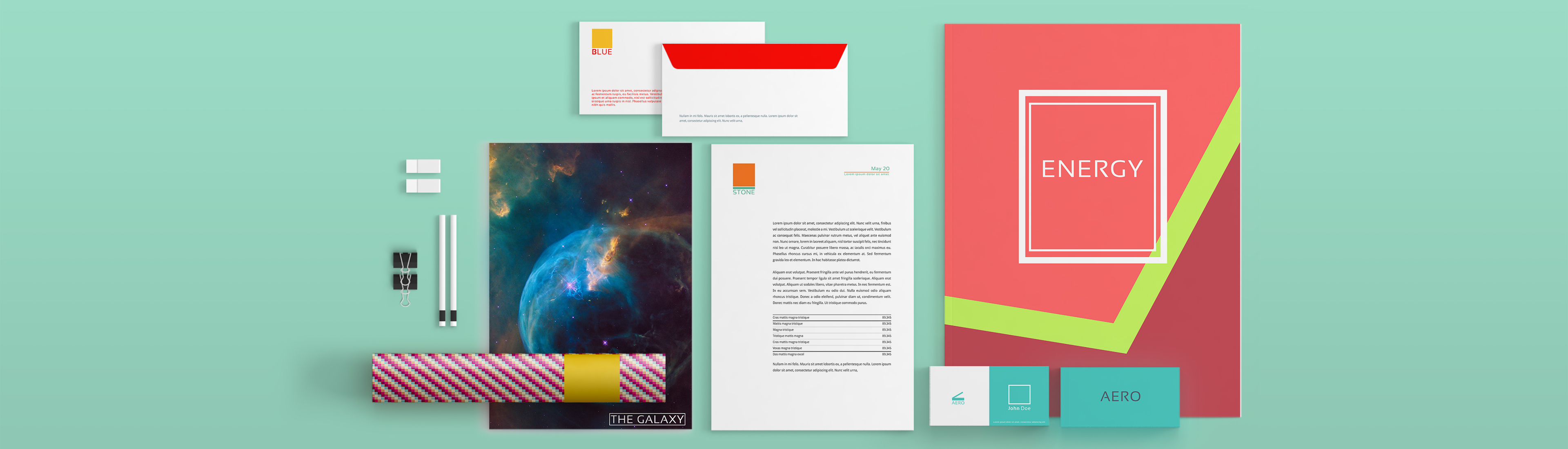 postplus front page stationery